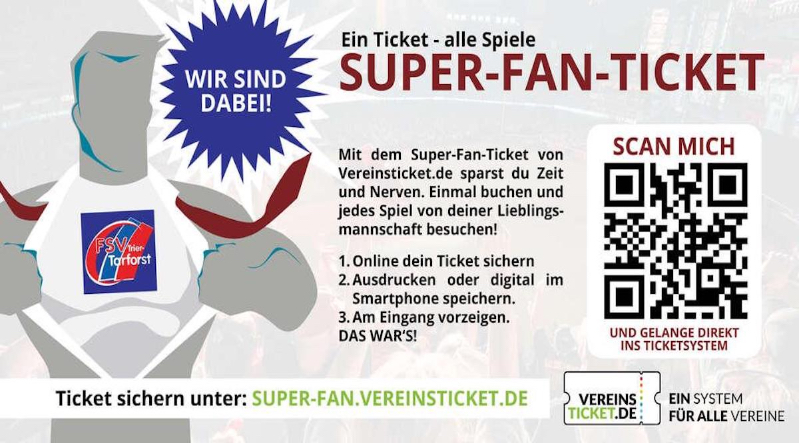 Werbung Super Fan
